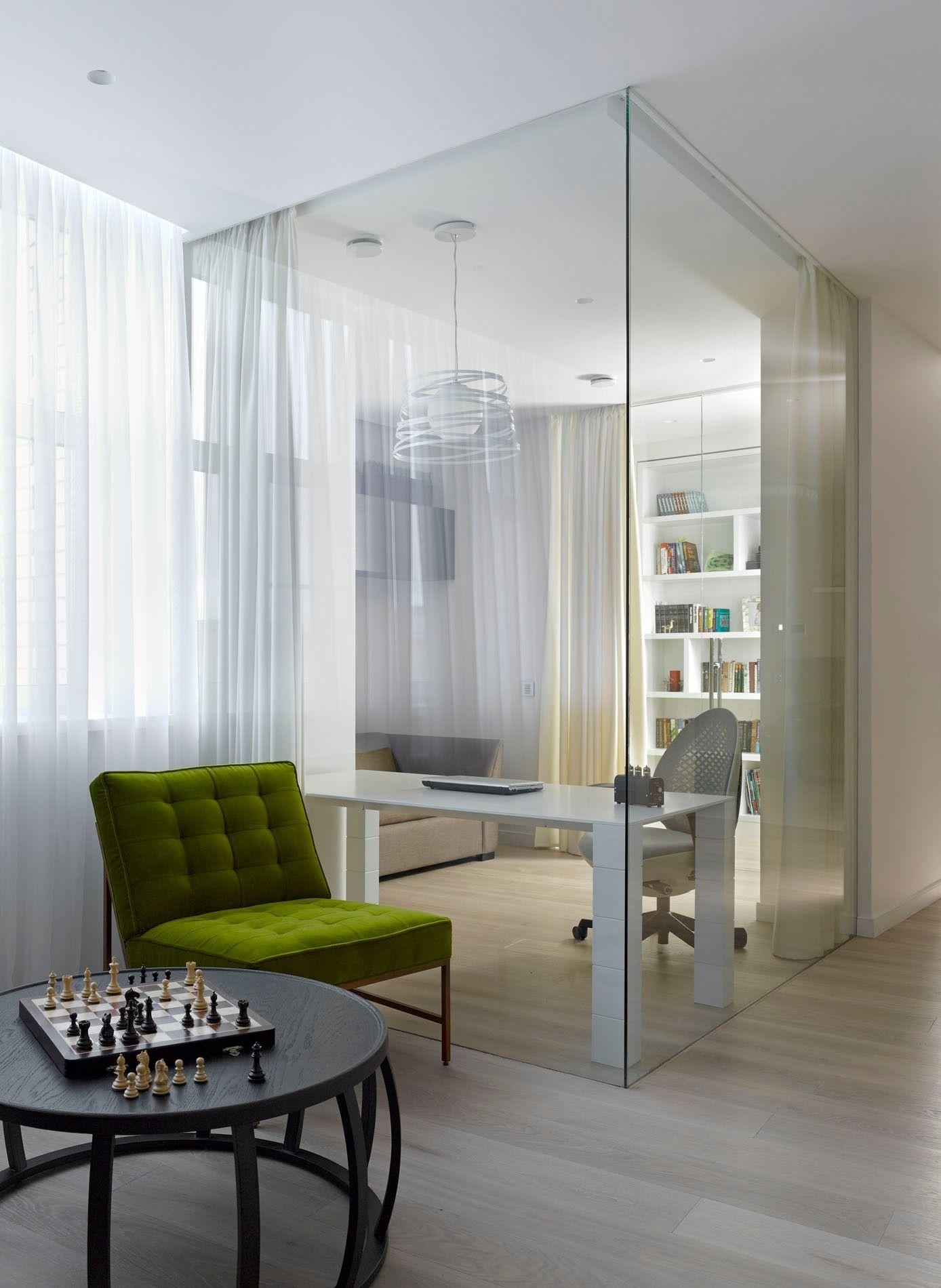 Стеклянная перегородка для комнаты своими руками